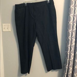 Women's Wide Leg Dressy dark blue Jeans